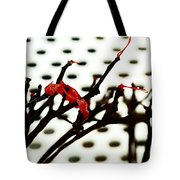 The Branches Naked By Wind And Rain. Tote Bag