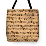 The Brandenburger Concertos Tote Bag