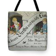 The Brave Bertha And Evil Lina Tote Bag