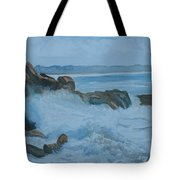 The Breakers Below Yaquina Head I Tote Bag