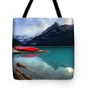 The Breathtakingly Beautiful Lake Louise Iv Tote Bag