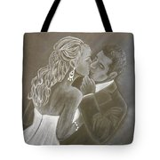 The Bride And Groom Tote Bag
