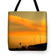 The Bridge At Sunset Tote Bag