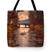 The Bridge By The Lake Tote Bag