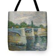 The Bridge Of Courbevoie, Paris Tote Bag