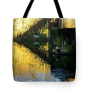 The Bridge On The River And Its Shadow. Tote Bag