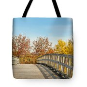 The Bridge To Autumn Tote Bag