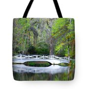 The Bridges In Magnolia Gardens Tote Bag