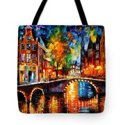 The Bridges Of Amsterdam Tote Bag