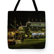 The Bright Carnival Night Lights Tote Bag