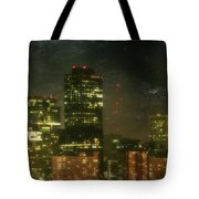 The Bright City Lights Tote Bag