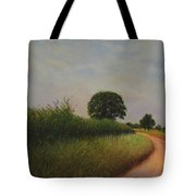 The Brighter Road Ahead Tote Bag