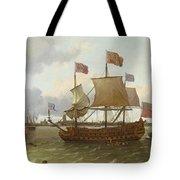 The Britannia In Rotterdam Tote Bag