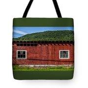 The Broadside Of A Barn Tote Bag