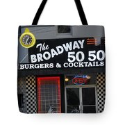 The Broadway 50 50 Tote Bag