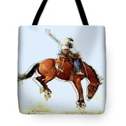 the Bronc Buster Tote Bag