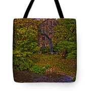 The Bronx River Stone Mill Tote Bag