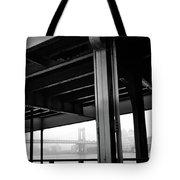 The Brooklyng Bridge And Manhattan Bridge From Fdr Drive Tote Bag