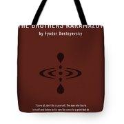 The Brothers Karamazov Greatest Books Ever Series 015 Tote Bag