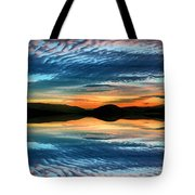 The Brush Strokes Of Evening Tote Bag by Tara Turner