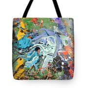 The Battle Of Salamis Tote Bag