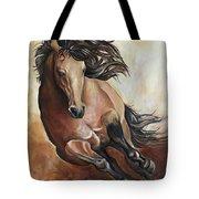 The Buckskin Gallop Tote Bag