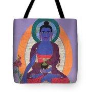 The Buddha Of Medicine  Tote Bag