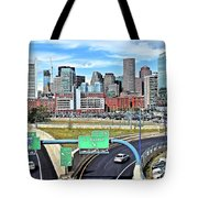 The Buildings Of Boston Tote Bag