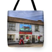 The Bull Pub Theydon Bois Panorama Tote Bag