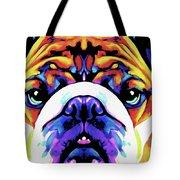 The Bulldog By Nixo Tote Bag