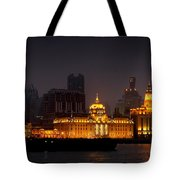 The Bund - More Than Shanghai's Most Beautiful Landmark Tote Bag by Christine Till