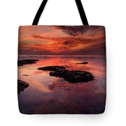 The Burning Cloud Tote Bag