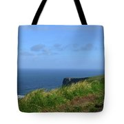 The Burren Pathway Along The Cliff's Of Moher Tote Bag