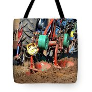 The Business End Of A Tractor  Tote Bag