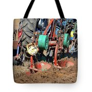 The Business End Of A Tractor Two  Tote Bag