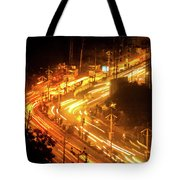The Busy City Tote Bag
