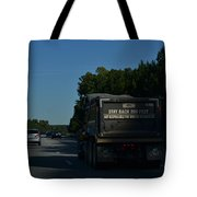 The Busy Highway Tote Bag