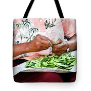 The Butterbean Lady Tote Bag