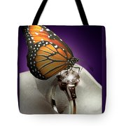 The Butterfly And The Engagement Ring Tote Bag