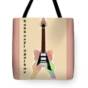 The Butterfly Guitar Tote Bag