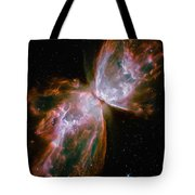 The Butterfly Nebula Tote Bag