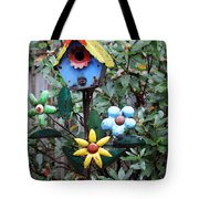The Buttlerfly Landed Tote Bag