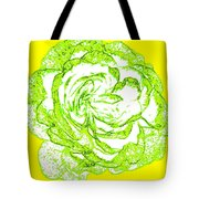 The Cabbage Rose Tote Bag