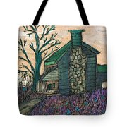 The Cabin 2 Tote Bag