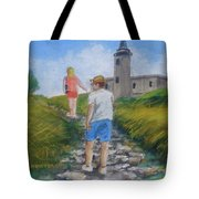 The Cabo Rojo Light House In Puerto Rico Tote Bag