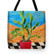 The Cactus From Nigeria Tote Bag