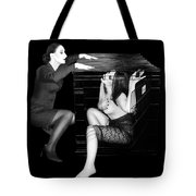 The Cage 2 - Self Portrait Tote Bag