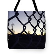 The Caged Morning  Tote Bag