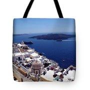 The Caldera, Santorini Tote Bag
