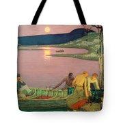 The Call Of The Sea Tote Bag